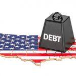 بدهی ملی آمریکا به ۱۶۰ درصد تولید ناخالص داخلی خواهد رسید